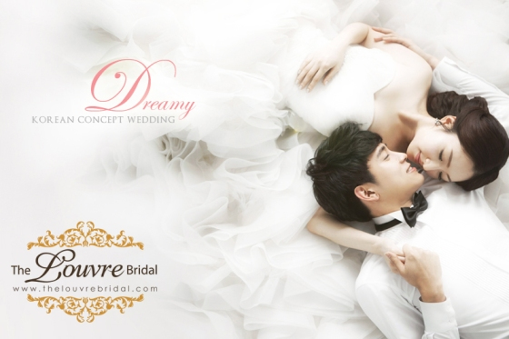 Korean Wedding Photography Concepts // Dreamy