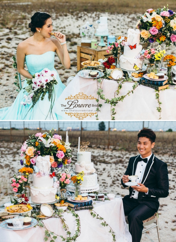 The Louvre Bridal Singapore_Alice in wonderland_Theme Wedding Photography 16