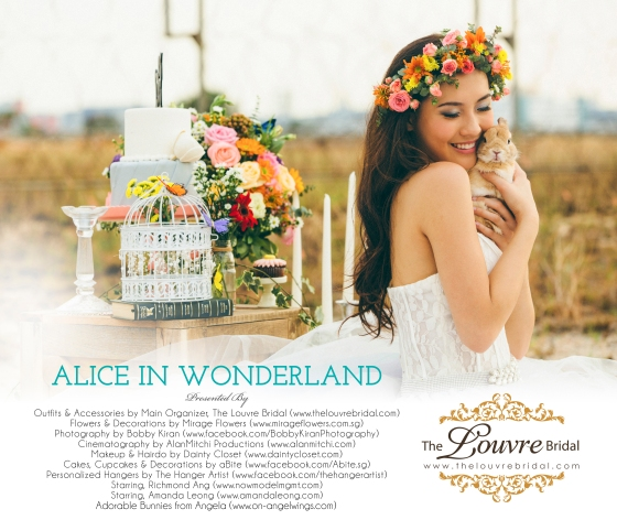 The Louvre Bridal Singapore_Alice in wonderland_Theme Wedding Photography Cover